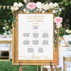 PLAN stołów personalizowany Kolekcja Only Love - slubnezakupy. How To Plan, Boho, Decor, Decoration, Bohemian, Decorating, Deco