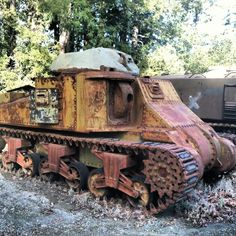 M3 Grant tank from World War 2 at the Military Vehicle Technology Foundation in Portola Valley, California. www.mvtf.org www.toadmanstankpictures.com