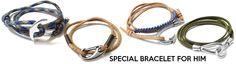 Men's Bracelets - Μetal clasps for him