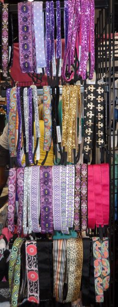 Lots of headbands to keep your hair out of your face! Can be purchased from runningskirts.com #running_skirts