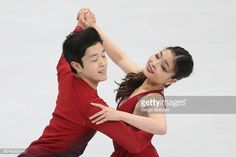 Ice dancers Maia Shibutani and Alex Shibutani of the United States perform their free dance at the 2017 Rostelecom Cup, the first of six events in the 201718 ISU Grand Prix of Figure Skating, at the...