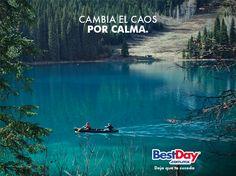 Consejo #33 para vivir un #BestDay Cambia el caos por la calma #OjalaEstuvierasAqui