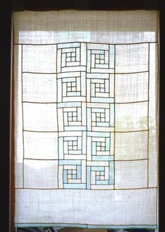 gorgeous pojagi from Banul (etsy seller) korean patchwork Quilting Projects, Quilting Designs, Sewing Projects, Traditional Fabric, Korean Traditional, Quilted Curtains, Fiber Art Quilts, Log Cabin Quilts, Embroidery Techniques