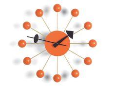 Buy the Vitra Ball Wall Clock at Nest.co.uk