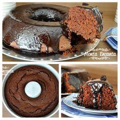 Bolo Nega Maluca. Sucesso sem idade. Vale a pena recordar e preparar, este bolo simples, com ingredientes mais simples aindao… um bolo de chocolate, super macio, molhadinho e para lá de delicioso. http://www.montaencanta.com.br/sem-categoria/bolo-nega-maluca/