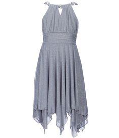 c5e2cdb3f83 Tween Diva Big Girls 716 EmbellishedNeck Handkerchief Dress  Dillards Girls  Dresses Tween