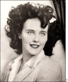 "Elizabeth Short ""Black Dahlia"" Murdered on January 15, 1947"