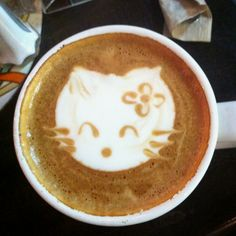 Urth cafe, DTLA. Spanish latte, my fav!