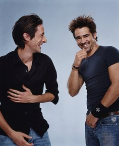 Adrien Brody & Colin Farrell...now the hawtness is tag teamin'......GTFO Ermahgerd LOL!