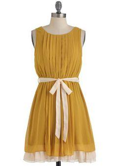 $54.99 Pleats, Love, and Harmony Dress, #ModCloth