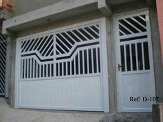 Gate Wall Design, Home Gate Design, Front Gate Design, Main Gate Design, Unique House Design, Single Floor House Design, Gate Designs Modern, Modern Entrance Door, Large Gazebo