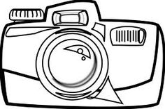 camera coloring pages - Google Search