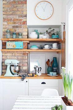 kitchen shelf design idea