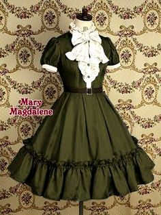 Unique, Elegant Designer Dark Black Cotton Girl Classic Lolita Dress for Full Selection of classic lolita dresses, Tailor Made, Fast Shipping. Buy Dark Black Cotton Girl Classic Lolita Dress Now! Kawaii Fashion, Lolita Fashion, Cute Fashion, Emo Fashion, Rock Fashion, Feminine Fashion, Woman Fashion, Moda Lolita, Lolita Mode