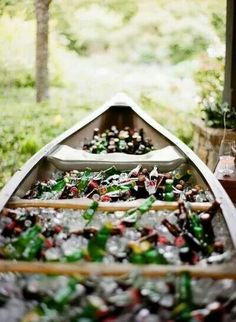 Fishing themed wedding idea. Love it!
