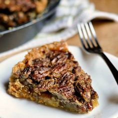 #Recipe: Old-Fashioned Pecan Pie (Without Corn Syrup)