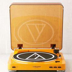 Audio-Technica X UO Pumpkin AT-LP60 Bluetooth Record Player   | eBay