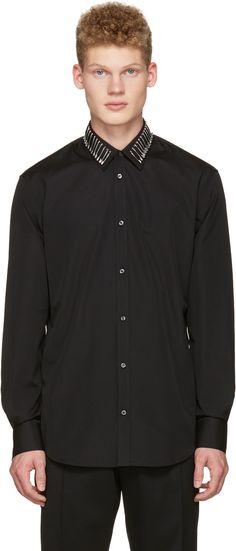 Dsquared2 - Black Safety Pin Shirt