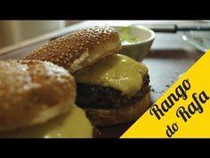 RECEITA DE HAMBURGUER DE PICANHA COM QUEJO GOUDA - YouTube