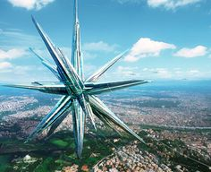 SuperStar, Self-sustaining city, Contemporary Chinatown, MAD Architects, future city, sustainable architecture, concept city