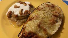 Beringela recheada - fALTA FOTO - Nutrição em blogue