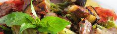 Recept voor warme aubergine-tomaat salade | Vers van de Teler