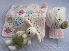sweet little doll blanket