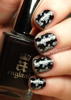 next on my list is Konad stamping plates so i can do cute things like this!