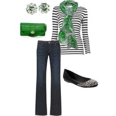 I just discovered Polyvore and I'm hooked! Now if I could just afford the outfits that I put together.