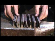 Pattern welding, damascus steel Штемпельный дамаск Часть 1 Сборка пакета Stamp damascus 1