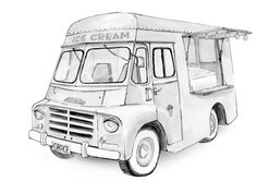 The 8 week restoration project, turned 8 month rebuild. Vintage Ice Cream, State Of Grace, Recreational Vehicles, Childhood Memories, Restoration, Saving Grace, Trucks, Camper, Truck