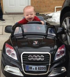 Twitter / Apparently Niall got his baby godson a new toy car. How stinkin cute is this?!?!?