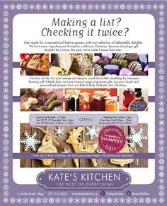 Kate's Kitchen hampers, 3 Castle Street, Sligo Lists To Make, Hampers, Make It Simple, Castle, Gift Ideas, Street, Easy, Kitchen, Christmas