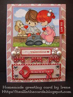 Card: Love and Lollipops Precious Moments Valentine Card