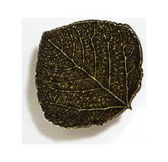 Coat closet in entry - aspen leaf knob