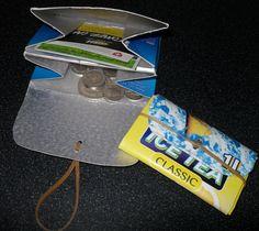 Tetra Pak-Recycling – Selbstgemachte Geldbörse in zwei Minuten: Und das Beste daran: Du wirst alles, was du dafür brauchst, schon zu Hause herumliegen haben...