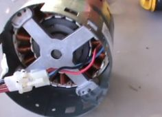 How to convert an Old Air Conditioner Blower Motor into a Generator