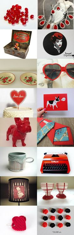 red, red, red by Betty on Etsy--Pinned with TreasuryPin.com