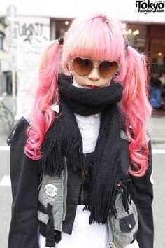 Harajuku fashion. Juria