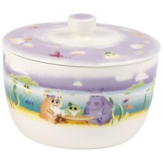 Villeroy & Boch Kitchen Keep your snacks in the Lily in Magicland Biscuit Tin, perfect for biscuits, sweets and gummy bears. Without the lid it also makes a nice dish. Anyone with a sweet tooth will love the Lily in Magicland Biscuit Tin. Biscuits, Villeroy, Gummy Bears, Tin, Sweet Tooth, Sweets, Snacks, Dishes, Kitchen