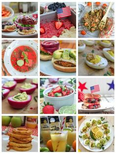 Come celebrate freedom with these amazing vegetarian and vegan recipes. Perfect for the 4th of July, you have everything from blueberry BBQ sauce to frosty Mexican bulldogs. Enjoy!