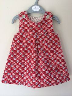 Reversible cotton dress £20.00