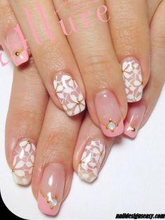 Simple Flower Nail Designs Summer 2014