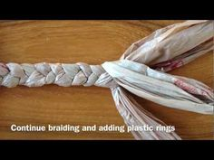 I like this one a little better than cutting and tying individual strips. still hate the handles. How to Make Your Own Plastic Jump Rope (Out of Plastic Bags) - YouTube