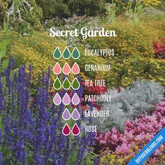 Secret Garden - Essential Oil Diffuser Blend