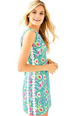 34c03bf95080e5 LILLY PULITZER MILA SHIFT DRESS. #lillypulitzer #cloth # Beach Dresses,  Fall Dresses