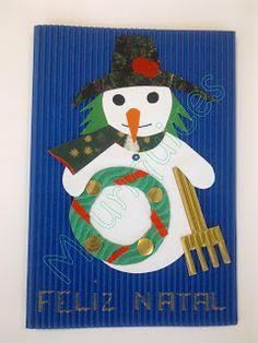 Postal para o Natal (para crianças)