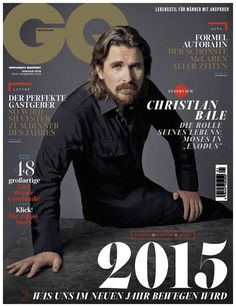 Christian Bale Covers GQ Germany January 2015 Issue