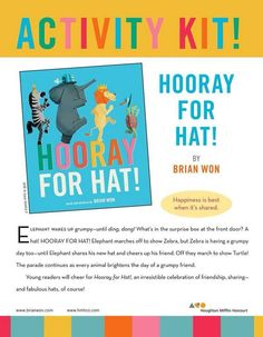 """Ideas for #kidsyoga for """"Hooray for Hat!"""" On this pic on the OMazing Kids Facebook page: https://m.facebook.com/photo.php?fbid=760147354036272set=a.338142666236745.94253.174264525957894type=1theater"""