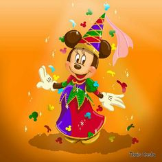 Carnival Minnie Mouse